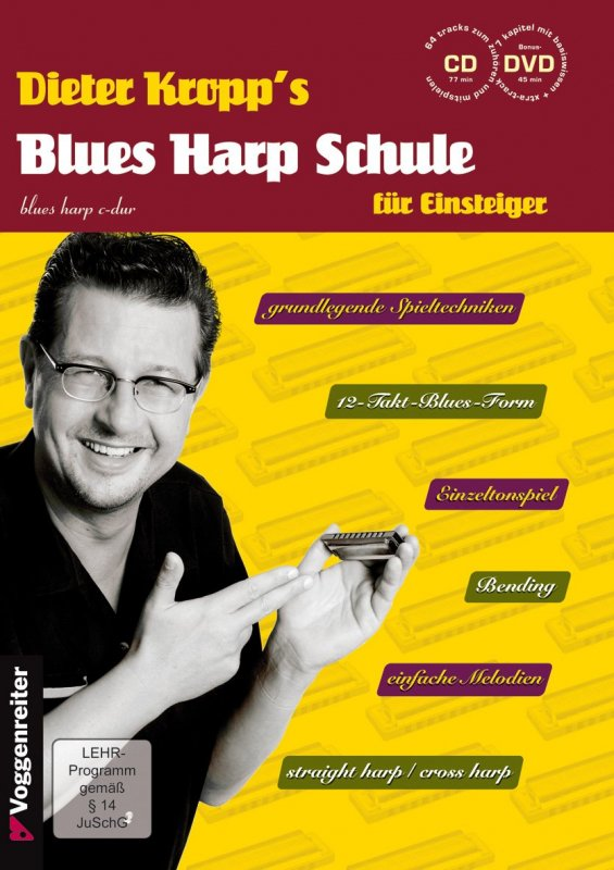 Dieter Kropp´s Blues Harp Schule