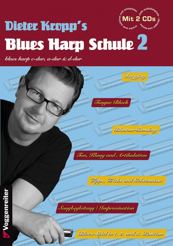 Dieter Kropp's Blues Harp Schule - Band 2